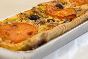Pizza pâte à pain